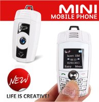 Quad Band - MINI X6 Keyfob Mobile Phone The Smallest Lightest in the world Quad Band GSM Unlocked Christmas Amazing Gift