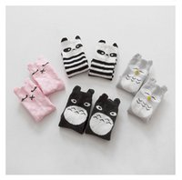 baby girl owl - Kids Lovely D Animal socks Baby Boy Girl Leg Warmers stocking Cotton Owl Panda Totoro image DHL free ship
