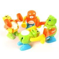 Wholesale Baby Infant Monkey Clockwork Toys Animal Crawling Somersaults Toy K5BO