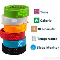 age exercise - Smart bracelet waterproof couple of students to wear the watch children watch W2 healthy exercise pedometer sleep monitoring