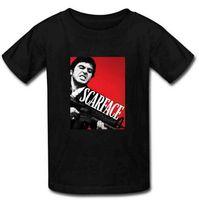 best short films - Hot Sale Men Tee Tops Gangster Films Scarface Gun T Shirts Mens Best Cotton Short Sleeve Man T Shirts Boy Friend Gift