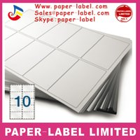 a4 paper - 5000 A4 self adhesive paper printing paper labels A4 printing Blank custom Sticker label mm x mm