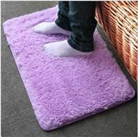 bathroom anti slip mat - 10pcs rugs carpet Japanese style washable super soft filament wool carpet living room bedroom anti slip mats
