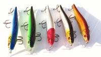 Wholesale Wholesale14cm g Large Fishing Baits Bionic Bait fishing lures Bait Fishing tackle Fishing Lure Minnow Bait fish hook Saltwater Hard Baits