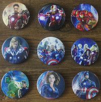 Sewing Tools Wool other The avenger iron man, Hulk black widow Thor metal BROOCH BADGE decoration badge buckle medium