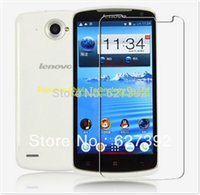 Wholesale x High Quality Clear Glossy Screen Protector Film Guard Cover For Lenovo S920
