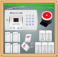 anti dialer - New wireless anti theft for zones digital LCD display PIR Voice security Auto Dialer Burglar Home Alarm System