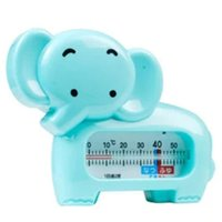 Wholesale 2015 new Baby Bathing Supplies Baby elephant baby supplies bath thermometer for wet and dry