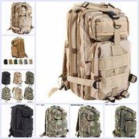 trek - 9 color Sport Outdoor camouflage mountaineering bag p military Tactical Backpack laptop Molle Rucksacks Camping Trekking bag TOPB1914