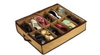 Wholesale Fedex fabric Closet shoes Organizer Under Bed Storage Holder Box Container Case Storer For Shoes
