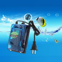 Wholesale Aquarium Air Pump W V Ultra Silent High Output Energy Efficient Fish Tank Oxygen Airpump aquario acuario H15043