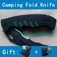 Cheap Top Quality Stainless Steel Outdoor Camping Folding Kinves Hiking Tools With a Serrated Tactical Survival Hunting Knife Wholesale