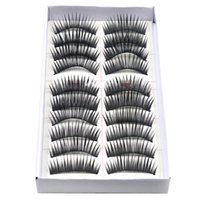 beauty party supplies - fabulous Pairs Eyelashes Party black Thick Stage Makeup Essential Simulation Eyelashes women beauty and health supplies