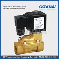 Wholesale 1 quot quot v V electric solenoid valve hot water with low price