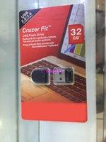 2015 Nueva 8/16/32 / 64GB Cruzer Fit CZ33 Mini USB 2.0 Flash Drive Pen Drives alta velocidad Ajuste perfecto para notenook, televisores Tablet y audio del coche 10pcs