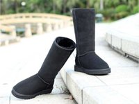 women shoes medium heel - 2014 New Winter Snow Boots women Winter new hot shoes Production Of Flat Shoes not ugglis