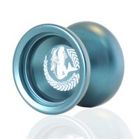 Wholesale 2016 MAGICYOYO New Professional Yo yo N12 Shark Honor Lake Blue Alloy Aluminum Yo yo Toy