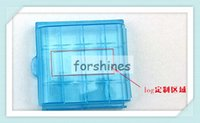 Wholesale 800pcs Hot Sale Newest Hard Plastic Battery Box Storage Case Holder For AA AAA Battery storage boxes ecig tools container