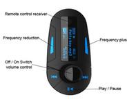3 colori Car Kit di musica MP3 Player Wireless FM Transmitter Radio modulatore Con Remote DHL di controllo USB SD MMC +