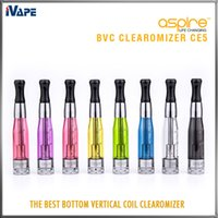 Wholesale 100 Original Aspire CE5 BVC BDC Clearomizers E Eletronic Ciagerttes Cigarettes Atomizers CE5 Ego BVC BDC Vaporizer With Huge Vapor