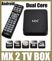Wholesale mx2 dual core android tv box fully loaded xbmc mx2 tv box g box midnight mx2 smart tv box android smart tv set top box OTH037