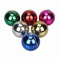 hanging balls - 15CM Christmas Tree Hanging Ball Mirror Ball Christmas Decorations Supplies Christmas Gift Ornaments ZYJ