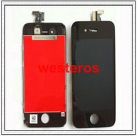 For Apple iPhone front glass iphone 4 - AAA Quality iPhone iPhone s LCD Complete LCD Screens Front Display Digitizer Glass Screen Assembly Free DHL