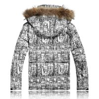 Wholesale new Winter Ski suit Men Down Jacket Windproof water proof free breathing down coat superacids thermal parka