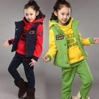 accounting plus - Boys and girls three piece plus cashmere sweater in winter suit embroidered DKS accounted for a children s attention on behalf of Chun Lin