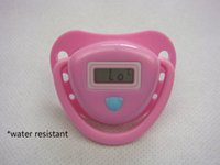 automatic reports - Baby Nipple Thermometer Of Delicate And Lovely Automatic Phonetic Report Pink
