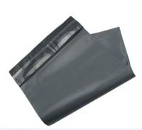 Wholesale 1000pieces cm Grey Mailing Bags Postal Sacks Envelopes Mailers Strong Plastic Polythene express mailing Bags