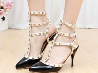 Cheap rivet shoes 2015 Best designer women shoes