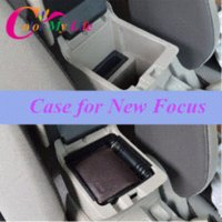 cd storage box - Center Limited Sale Freeshipping Black Armrest Storage Box Partition Case for Ford Focus Accessories M50138