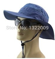 Wholesale unisex outdoor sport quick drying cap round edge sunshade hat fisherman hat Korean style