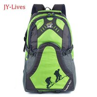 Wholesale 2014 new Outdoor hiking travel backpacks men s bags school backpack L colorful mochilas