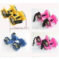 Wholesale new hot sale two light slip round wheels go ballistic shoes skates Slide nimbus With flash rollerblading
