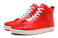 Cheap Red Bottom Sneakers With Spikes | Free Shipping Amazing ...