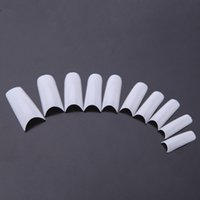 long nail art tips - 500Pcs Long Square False Tips Professional Salon Nail Art Accessory Design White W417