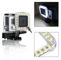 Wholesale Go pro Accessories LED Fill Light Mount Gopro Hero Housing Lens FOR Go Pro Hero3 Camera Mounting