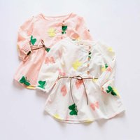 Wholesale Long Sleeve Dresses Shirt Dress Princess Dresses Girl Dress Spring Cute Dresses Child Dress Children Clothes Kids Clothing Ciao C21754