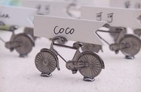 bicycle wedding cake - 2015 Wedding Decorations Vintage Bicycle Name Number Table Place Card Holder For Wedding Party Favor