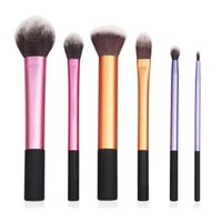 real techniques makeup brush - New Real Makeup Brushes Core Collection Starter Techniques Kit set