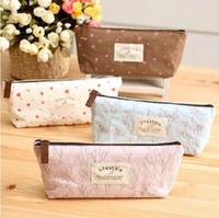 Wholesale Chic Girl Coin Key Holder Bag Purse Wallets Card Zipper Case Flora Print Handbag
