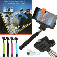 Wholesale China Monopod Handheld For iPhone Samsung Android Smart Phone Wireless Bluetooth Focus Function Selfie Stick