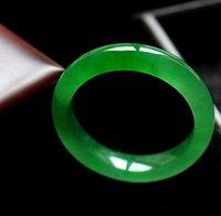 burma jadeite jade bangle - Burma jadeite color quartzite jade bracelet with green too hot hot style exquisite box