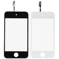 Wholesale new Touch Screen Digitizer For iPod Touch th Gen black white B0028