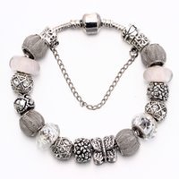 Wholesale fashion High Quality alloy European beads fit western style Charms Bracelet and