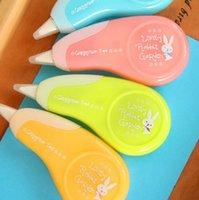 Wholesale 2 cartoon rabbit correction tape kawaii material escolar korean stationery school supplies papelaria