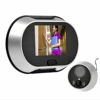 Wholesale Visual Monitor quot Inch LCD KP Digital Door Bell Doorbell Peephole Viewer security home