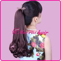 Wholesale Pear ponytail wig ponytail high temperature wire wig ponytail long hair bundled cauda